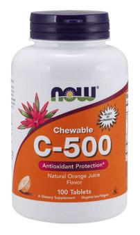 Vitamin C500 - Orange Chewable Tablets
