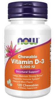 Vitamin D3 - 5000iu Chewable Mint