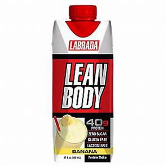 12pk Lean Body - Banana