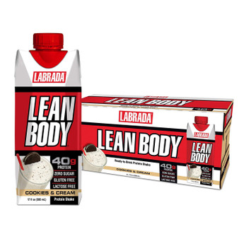 Lean Body cookies and cream 12pk
