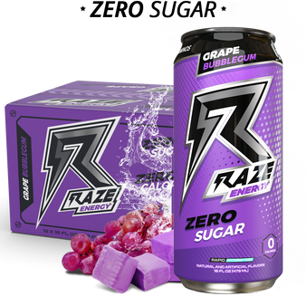 12pk Raze - Grape Bubblegum