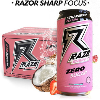 12pk Raze - Strawberry Coloda