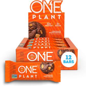 12pk ONE Plant-Choc Peanut Butter