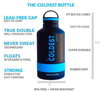 Coldest 64oz Bottle W/Loop Lid