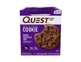 Quest Protein Cookie 12pk - Double Choc Chip