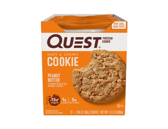 Quest Protein Cookie 12pk - Peanut Butter