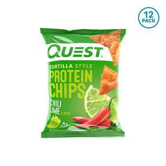 Quest Chips 8pk - Chili Lime