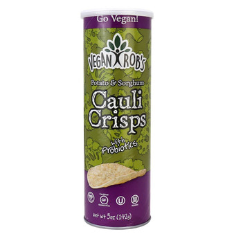 Vegan Rob's Crisps 12pk - 5oz Cauliflower