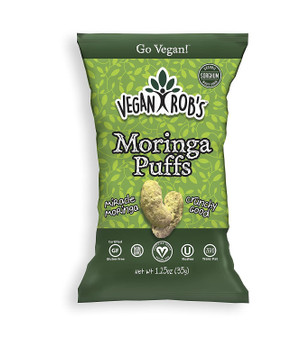 Vegan Rob's Puffs 24pk - 1.25oz Moringa