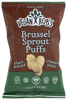 Vegan Rob's Puffs 12pk - 3.5oz Brussel Sprout