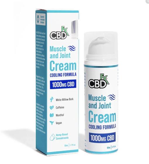 Muscle & Joint CBD Hemp Cream 1000mg