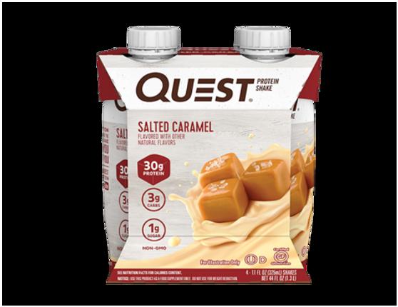 Quest RTD 4pk - Salted Caramel
