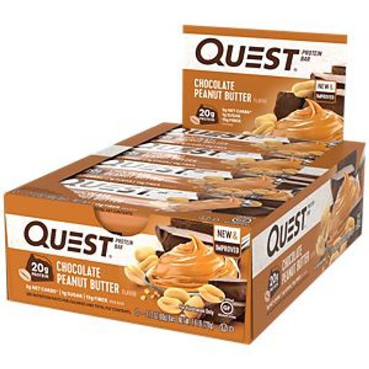 Quest Bar 12pk - Chocolate Peanut Butter