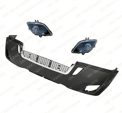 QSC Bumper Air Flow Deflector Left Right Pair for Freightliner Cascadia 2018+