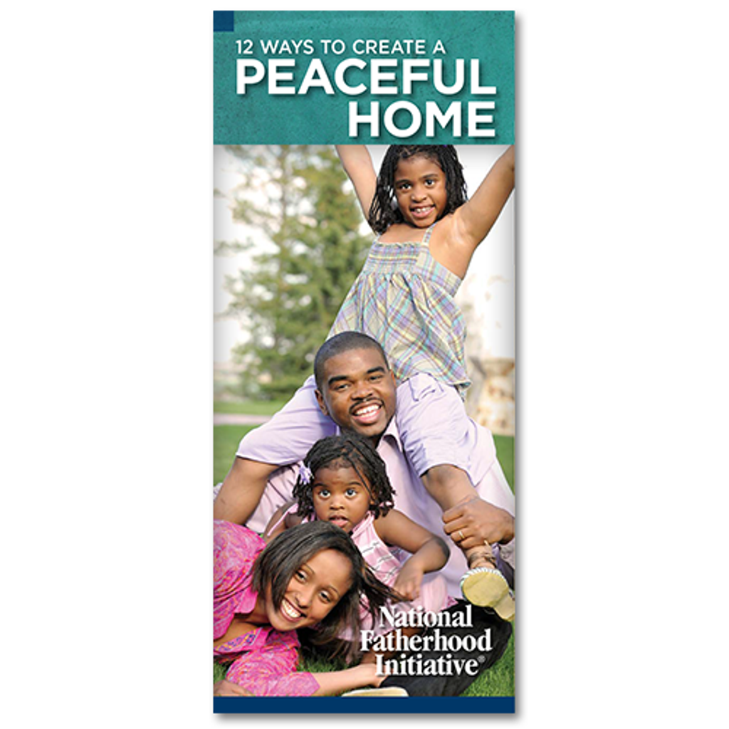 Brochure: 12 Ways To Create a Peaceful Home