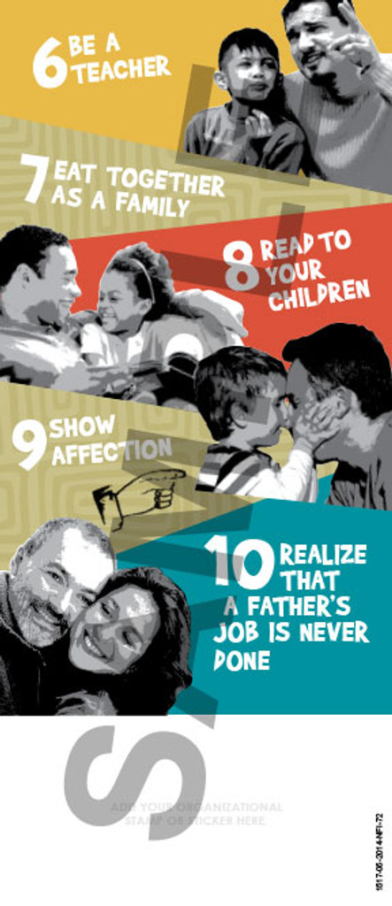 Tip Card: 10 Ways to be a Better Dad
