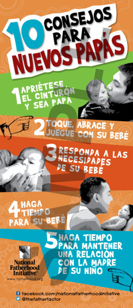 Tip Card: 10 Tips for New Dads (SP)