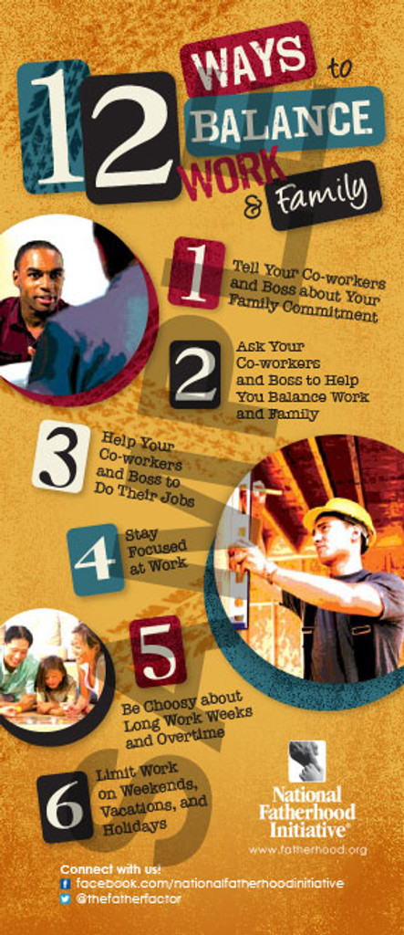 Tip Card: 12 Ways to Balance Work and Family