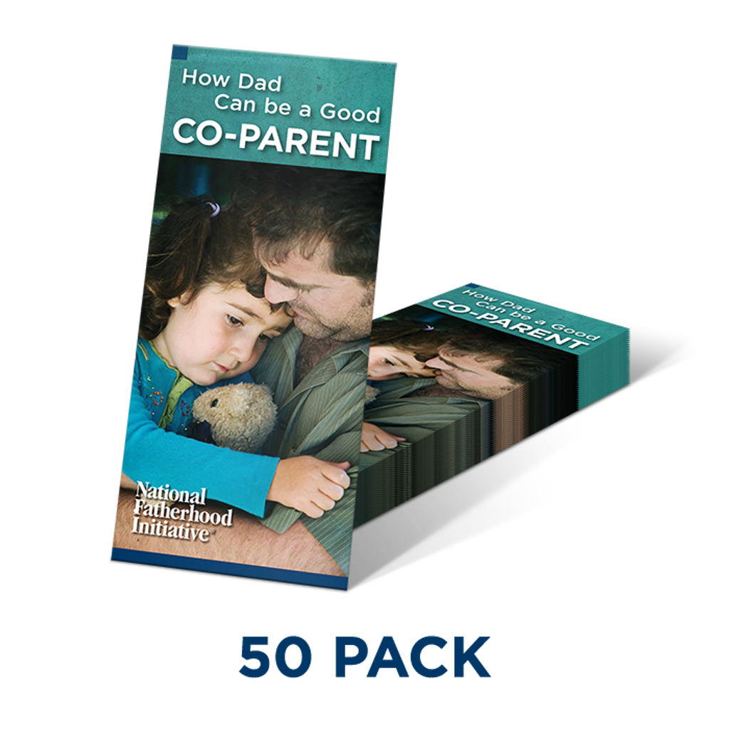 Brochure: How Dad Can Be a Good Co-Parent