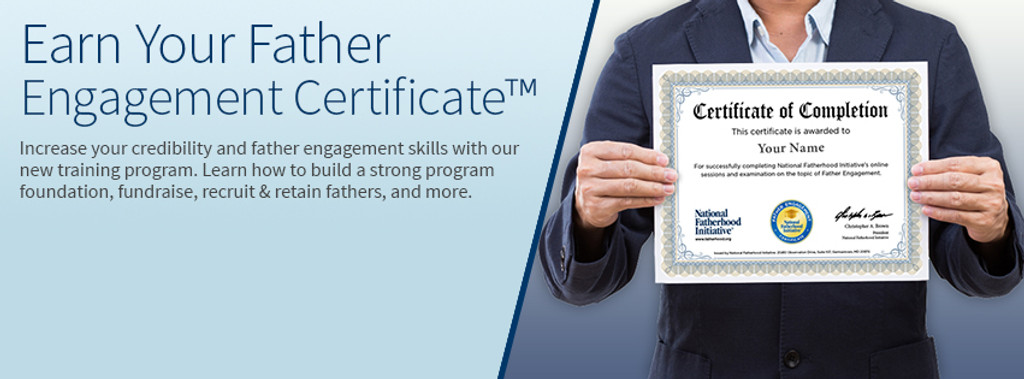 Father Engagement Certificate™ [Online Training]