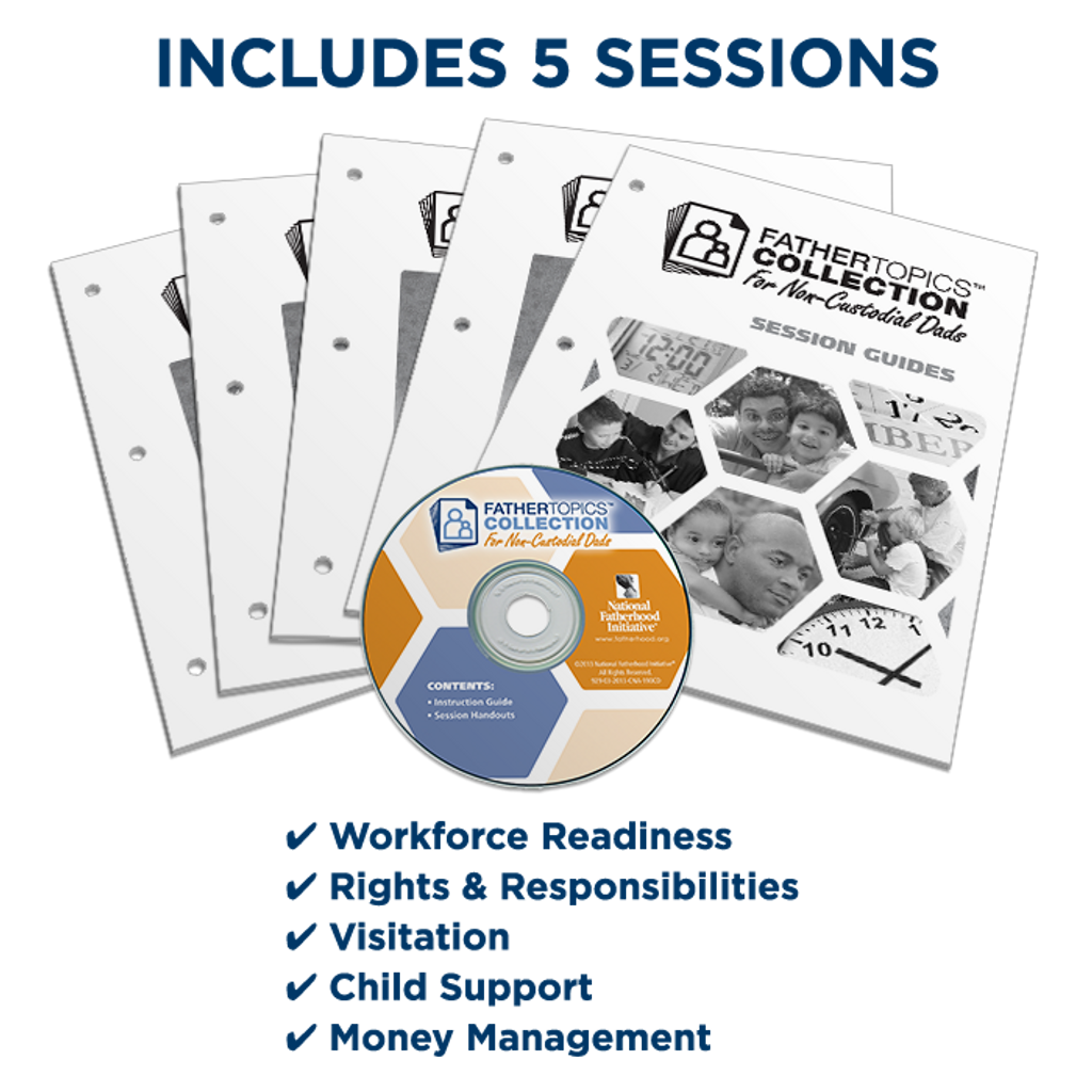 24/7 Dad PM® 3rd Ed. with Booster Sessions for Non-Custodial Dads