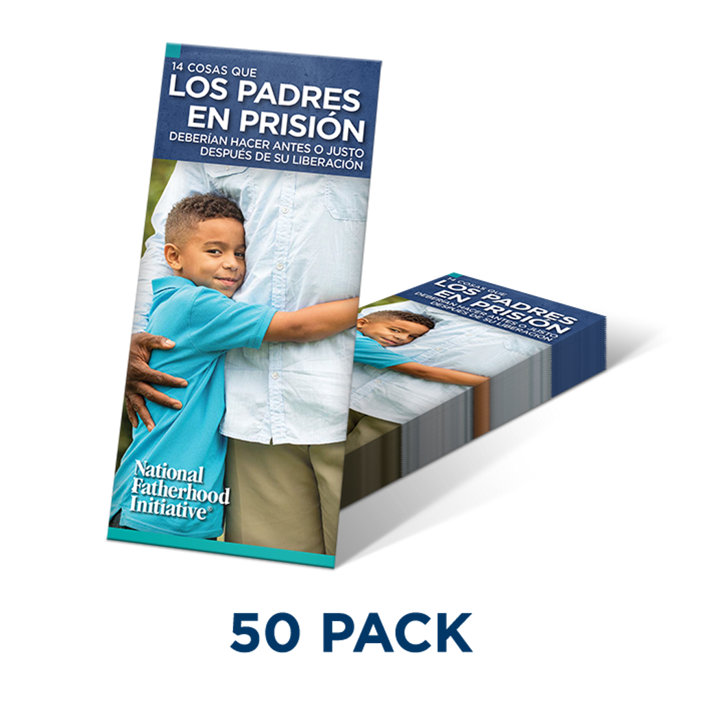 Brochure: 14 Things Dads In Prison Should Do Before Or Right After Release (SP)