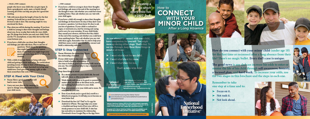 Brochure: How to Connect with Your Minor Child After a Long Absence
