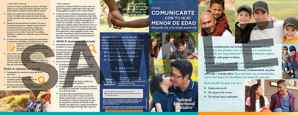Brochure: How to Connect with Your Minor Child After a Long Absence (SP)