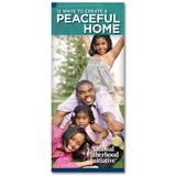 Brochure: 12 Ways To Create a Peaceful Home