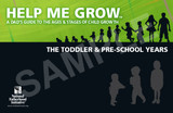 Help Me Grow: The Toddler & Pre-School Years