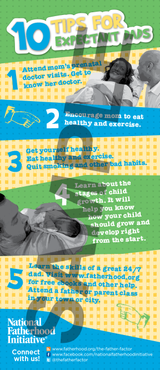 Tip Card: 10 Tips for Expectant Dads