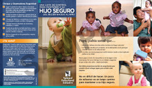 Brochure: A Checklist for Keeping Your Child Safe from Newborn to Toddler (SP)