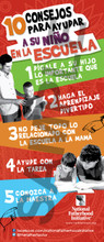 Tip Card: 10 Tips to Help Your Child in School (SP)