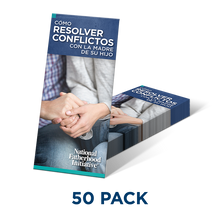 Brochure: How to Resolve Conflict with the Mother of Your Child (SP)