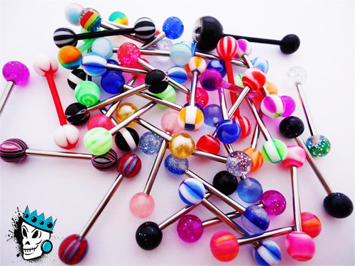 Tongue Ring Lot 5 for $5