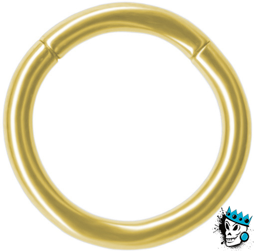 Gold Segment rings (16 gauge - 10 gauge)