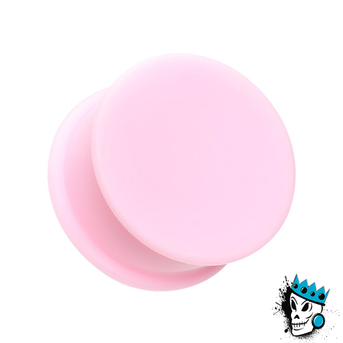 Pink Solid Silicone Plugs