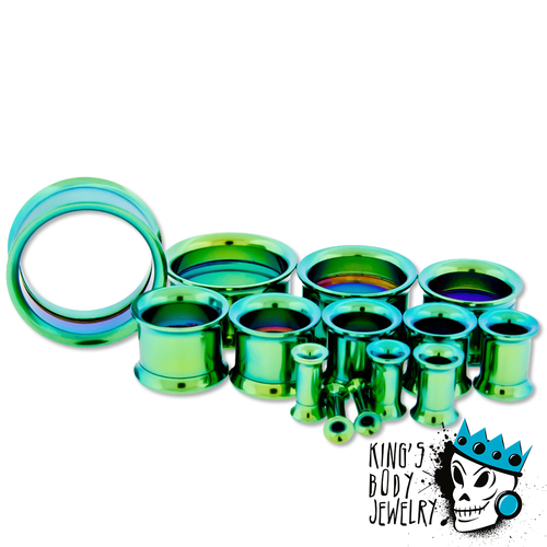 Green Steel Internally Threaded Eyelets