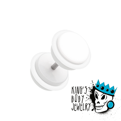 White Fake Plugs