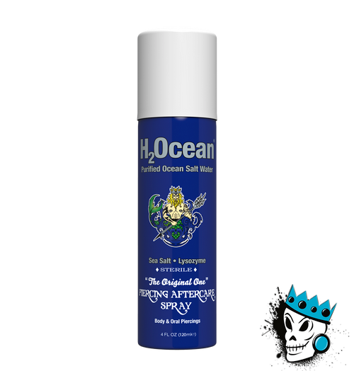 H20cean Ear Piercing & Stretching Aftercare