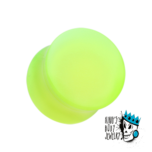 Acrylic Glow in the Dark Double Flare Plugs