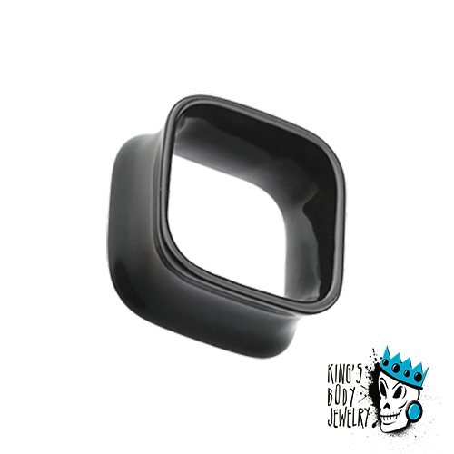 Black Acrylic Square Tunnels