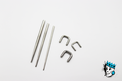 Septum Stretching Kit (14 gauge - 10 gauge)