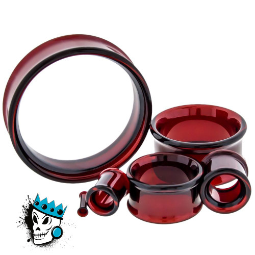 Red PYREX GLASS Tunnels