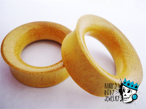 Jackfruit Wood Concave Tunnels