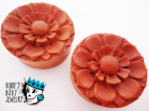 Saba Wood Flower Plugs