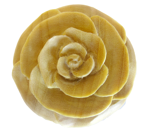 Crocodile Wood Rosebud Flower Plugs