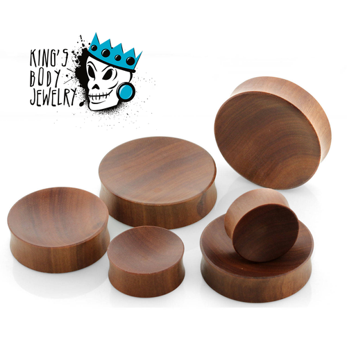 Sawo Wood Concave Plugs