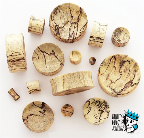 Tamarind Wood Concave Plugs