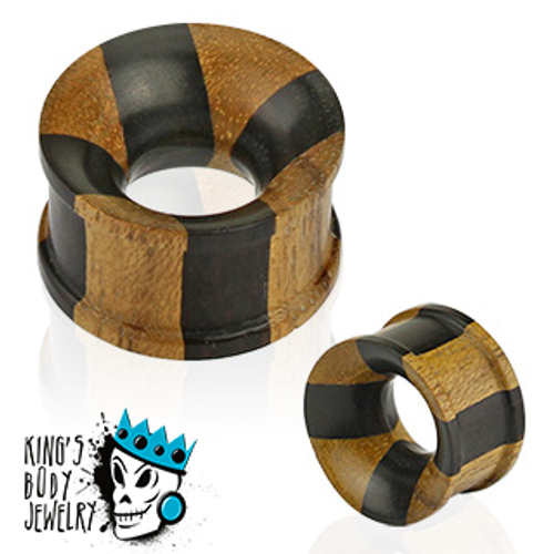 Two Toned Wood Tunnels